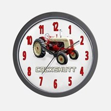 Cockshutt Tractor Wall Clock