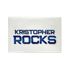 kristopher rocks Rectangle Magnet (10 pack)