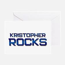 kristopher rocks Greeting Card