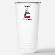 Texas Oilman Travel Mug, Oil Field