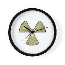 Radioactive Warning Wall Clock