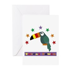 Toucan Power Greeting Cards (Pk of 10)