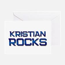 kristian rocks Greeting Card