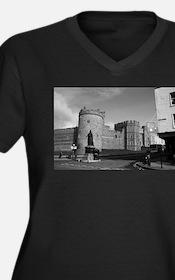 Windsor Women's Plus Size V-Neck Dark T-Shirt