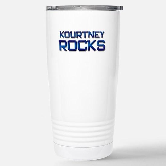 kourtney rocks Stainless Steel Travel Mug
