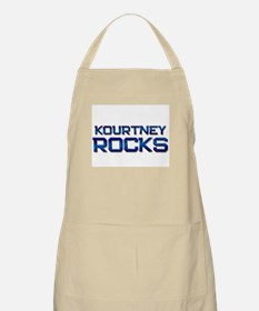 kourtney rocks BBQ Apron