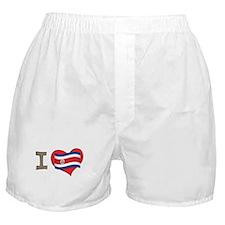 I heart Costa Rica Boxer Shorts