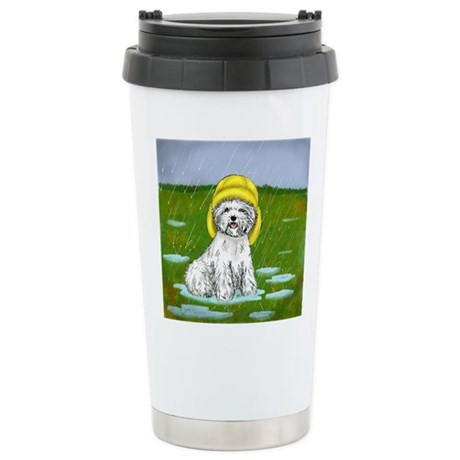 Under the Weather Stainless Steel Travel Mug
