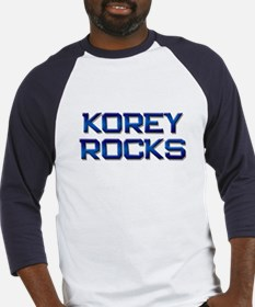 korey rocks Baseball Jersey