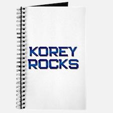 korey rocks Journal