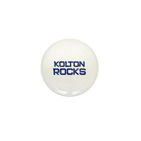 kolton rocks Mini Button