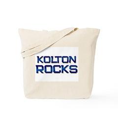 kolton rocks Tote Bag