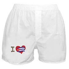 I heart Cuba Boxer Shorts