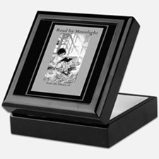 Deluxe Read by Moonlight Bookplate Storage Box
