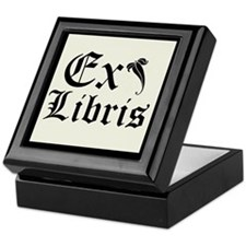 Deluxe Ex Libris Bookplate Storage Box
