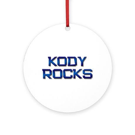 kody rocks Ornament (Round)