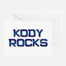 kody rocks Greeting Card