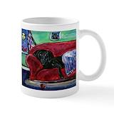 Black labradors Standard Mugs (11 Oz)