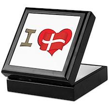 I heart Denmark Keepsake Box