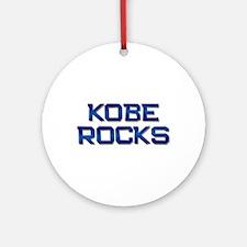 kobe rocks Ornament (Round)