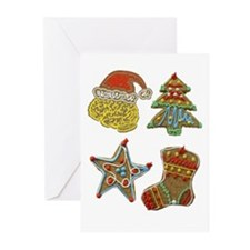 Christmas Cookies Greeting Cards (Pk of 10)