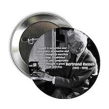 Philosophy Bertrand Russell Button