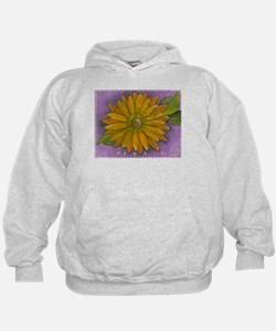 Funny Whimsical daisy Hoodie