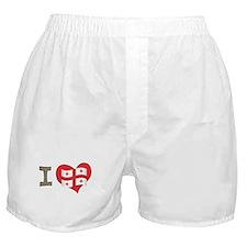 I heart Georgia Boxer Shorts