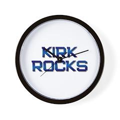 kirk rocks Wall Clock