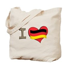I heart Germany Tote Bag