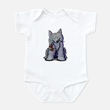 Romeo Schipperke Infant Creeper