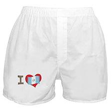 I heart Guatemala Boxer Shorts