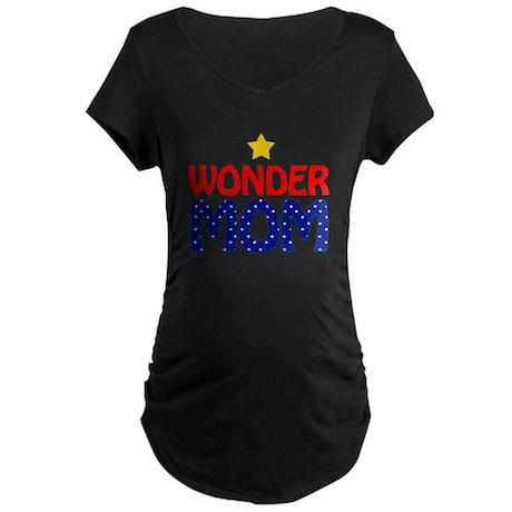 Wonder Mom Maternity Dark T-Shirt