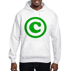 Copyright Symbol Hoodie