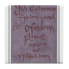 Ireland. ink Tile Coaster