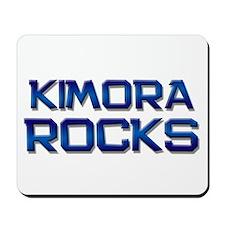kimora rocks Mousepad