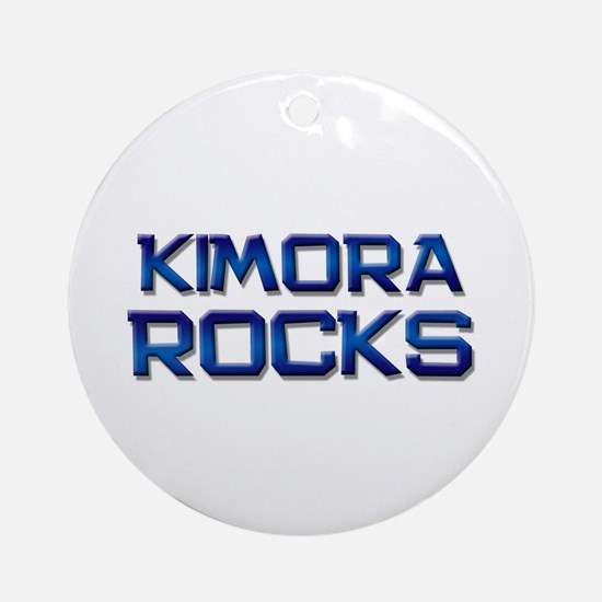 kimora rocks Ornament (Round)