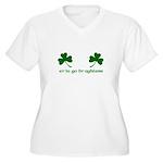 Erin Go Braghless Women's Plus Size V-Neck T-Shirt