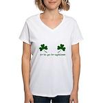 Erin Go Braghless Women's V-Neck T-Shirt