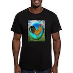 Dutch Opal Bantam Men's Fitted T-Shirt (dark)