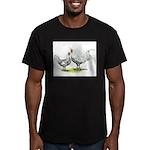 Appenzeller Spitzhaubens Men's Fitted T-Shirt (dar