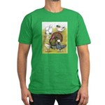 Assorted Poultry #3 Men's Fitted T-Shirt (dark)