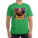 King Chantecler Men's Fitted T-Shirt (dark)