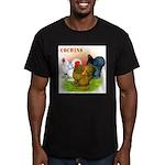 Cochins Trio Men's Fitted T-Shirt (dark)