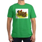 GL Cochin Bantams Men's Fitted T-Shirt (dark)
