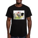 Dutch Bantams Men's Fitted T-Shirt (dark)