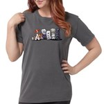 OE Game Grey Rooster Men's Fitted T-Shirt (dark)