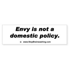 Envy Is Not a Domestic Policy