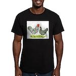 Barred Hollands Men's Fitted T-Shirt (dark)