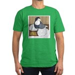 Andalusian English Trumpeter Men's Fitted T-Shirt
